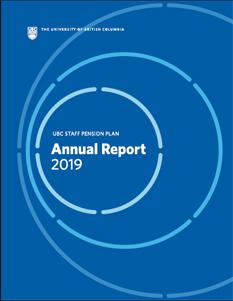 Staff Pension Plan Annual Report 2019